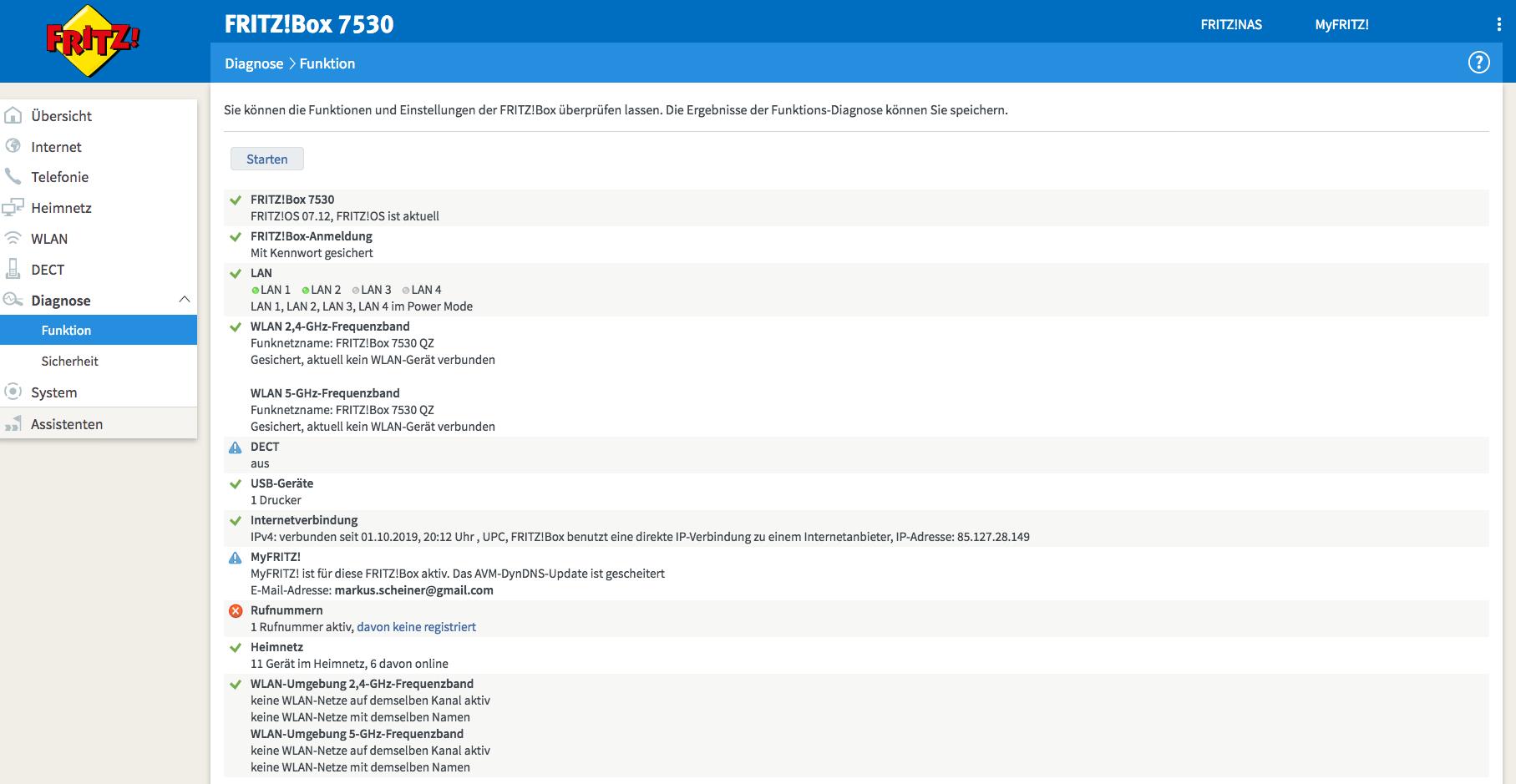 Fritzbox Update auf 20.20 für Fritzbox 20   Kabel, DSL & Hybrid ...