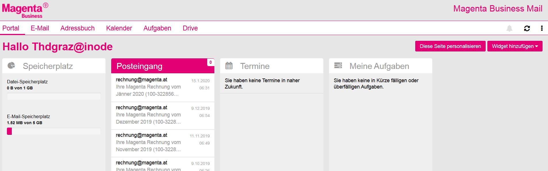 Telekom Festnetz Email